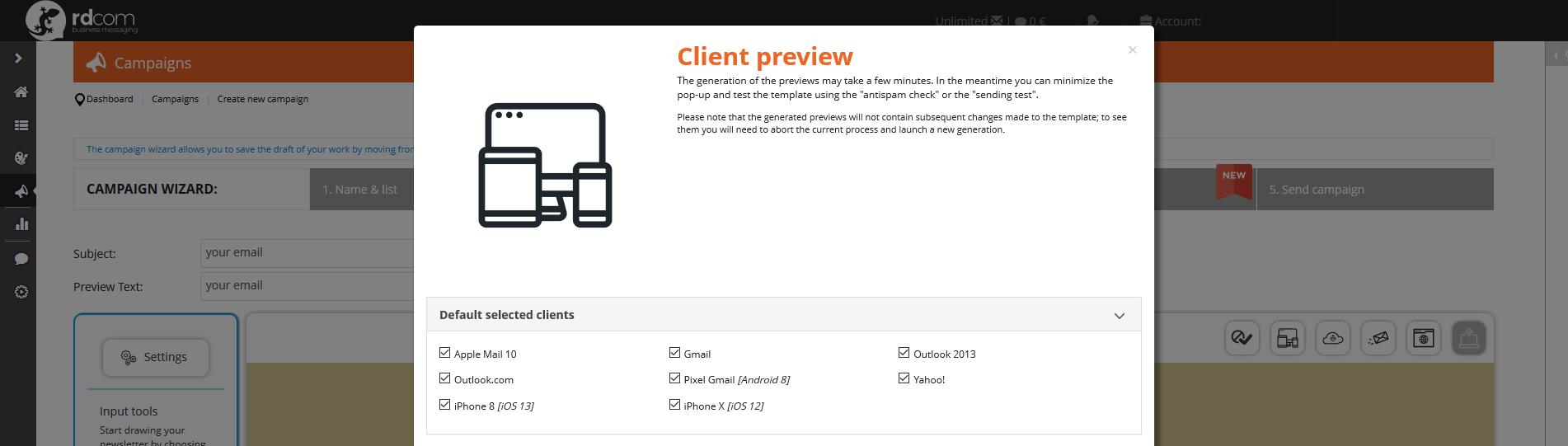 client-preview