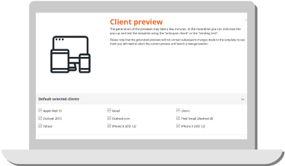 Email Client Preview