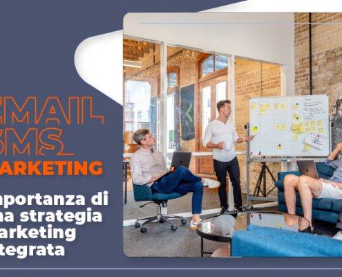 Importanza di una strategia marketing integrata tramite SMS e email - rdcom