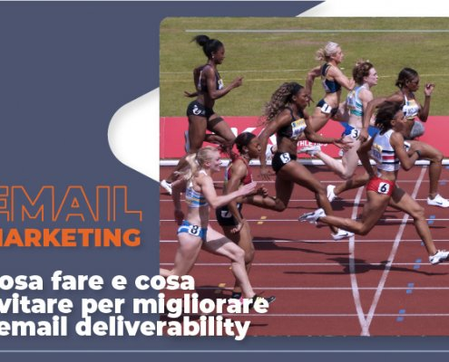 Gara di arrivo al traguardo come email deliverability ottimizzata