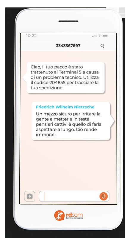 Nietzche-SMS
