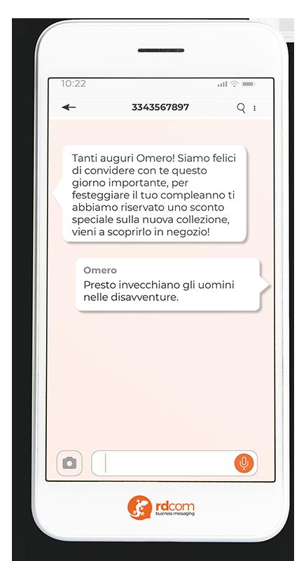 Omero-SMS