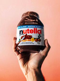 barattolo di Nutella
