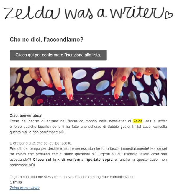 esempio-doppio-opt-in-zelda-was-a-writer