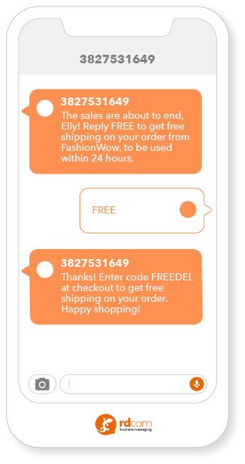 2-way sms promotion