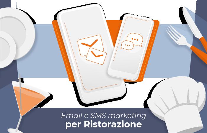Email e SMS marketing per ristorazione