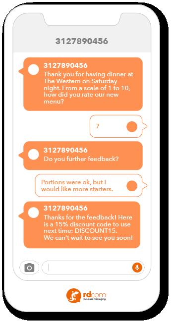 2-way sms survey