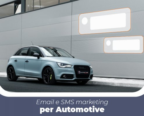 Email ed SMS marketing per automotive