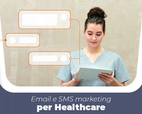 Email e sms marketing per l'healthcare cover