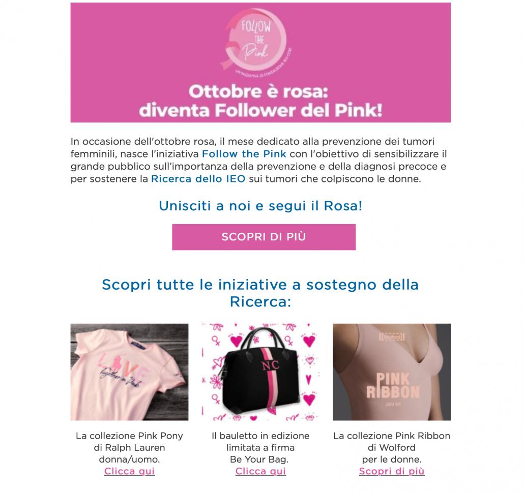 Esempi Email Marketing per la Sanità
