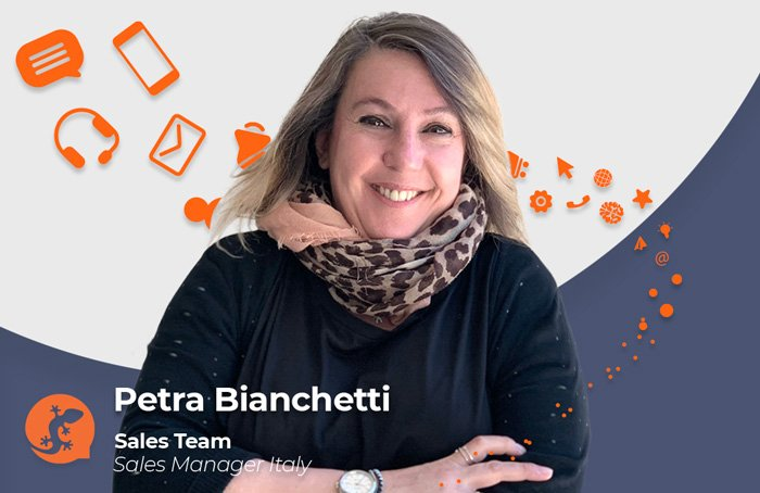 Petra Bianchetti - Sales Manager Italy