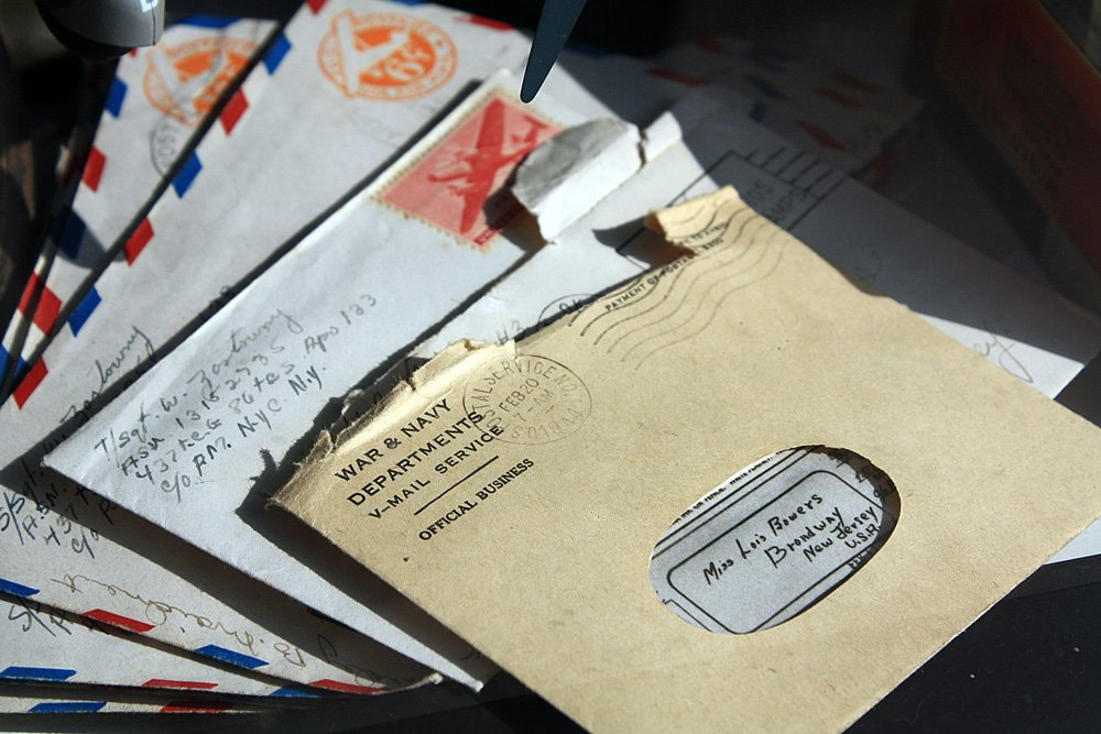 Letters in the world post day